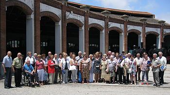 L'Assocació Catalana de Parkinson visita el Museu del Ferrocarril de Catalunya