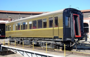 Cotxe saló ZZ 324 - Museu del Ferrocarril de Catalunya