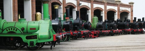 Col·lecció de locomotores de vapor del Museu
