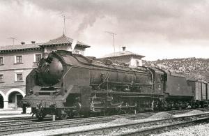 Locomotora Santa Fe en funcionament