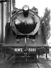 Santa Fe amb la numeració de Renfe