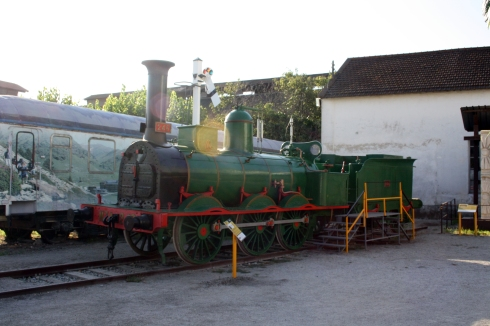 Situació actual de la locomotora al Museu