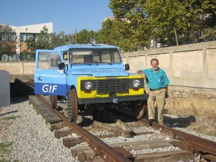 El Land Rober de l'antic Gestor d'Infraestructures Ferroviàries