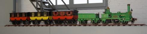 Maqueta del Tren del Centenari