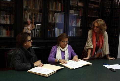 Signatura del conveni de cessió