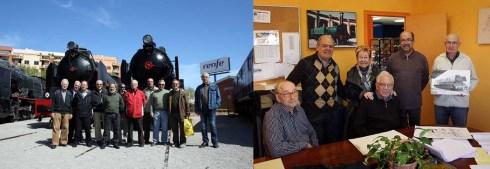 Voluntaris que ajuden a les àrees de conservació i de documentació