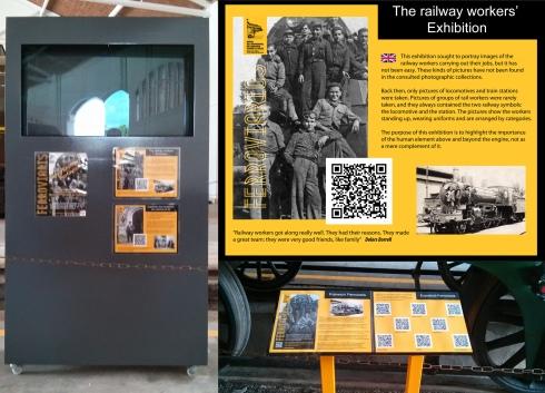 Cartells i audiovisual de l'Exposició