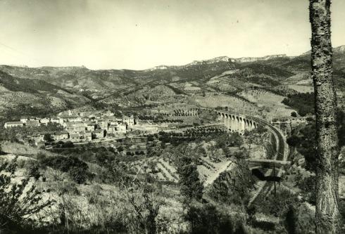 Viaducto de Los Masos, 1958. Francesc Ribera Colomer.