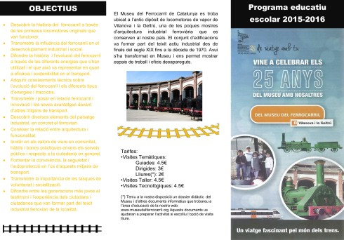 Folleto PROGRAMA EDUCATIU 2015-2016 CAT-2
