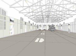 Proyecto para la rehabilitación y ampliación de la antigua nave