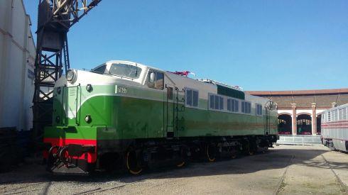La Panchorga 7807 un cop restaurada.